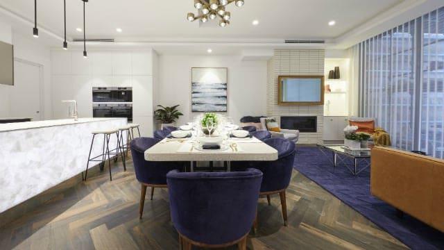 Stanbond SA - Blinds Adelaide - Image of modern dining room veri shade blinds